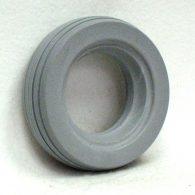 AL132 6 x 2″ Light Gray 4 RIB TIRE Fits Most Two Piece Wheels