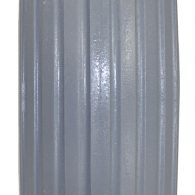 AL145 7 x 2″ Light Gray RIB TIRE For Two-Piece Wheel