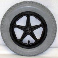 RW022 12 1/2 x 2 1/4″ 5 SPOKE MAG Flush Hub Free Spin 1/2″ Axle With Tire & Tube