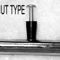PR051 24 x 1″ RIVNUT TYPE (8) PUSHRIM CHROME PLATED STEEL