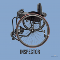 Inspector Sports Wheelchair from RGK Wheelchairs